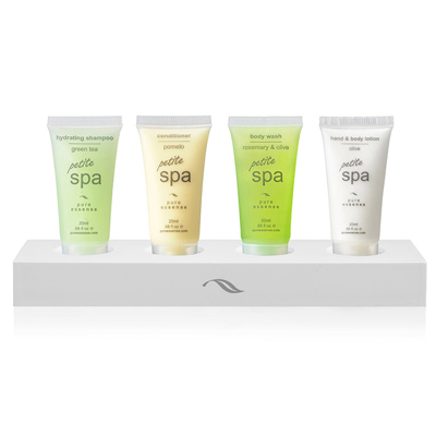 20ml SPA Petite Tubes Hotel Display Stands