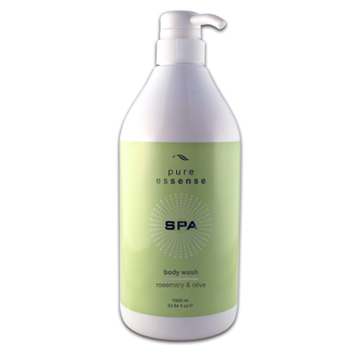 SPA Rosemary & Olive Body Wash 1 Litre Pump Bottle